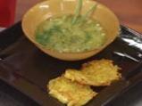 Супа от пресен чесън с картофено пюре 5