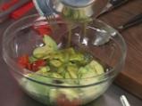 Салата от авокадо с маслинови туили 6
