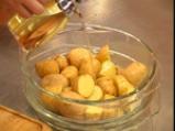 Огретен от спанак и картофи