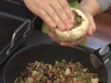 Пълнени печурки с аншоа и бекон 4