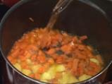 Морковена супа с джинджифил и авокадо