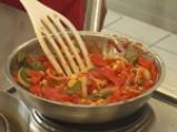 Свинско печено с панонски зеленчуци 2
