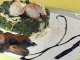 Джуркана коприва с овче сирене, яйца ...