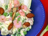 Грахова салата със скариди