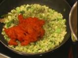Талятели с печени домати и тиквички 5