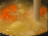 Виенска картофена супа с гъби 3