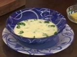Млечна супа от аспержи 5