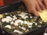 Лазаня със спанак и печурки 5