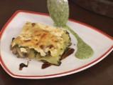 Лазаня със спанак и печурки 9