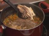 Пилешка супа с бухтички от кисело мляко 4