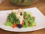 Пилешка салата с маруля 5