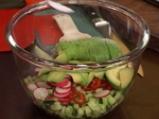 Салата от репички с авокадо 3
