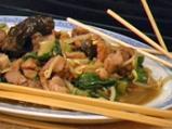 Свинско с марули по китайски