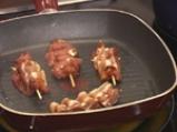 Къдрави свински шишчета с морковени тимбалчета 3