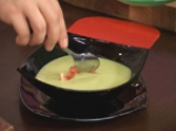 Студена супа с тиквички и авокадо 4