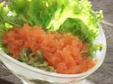 Доматено фрапе с мариновани краставиц...