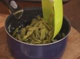 Крокети от зелен фасул със салата от патладжани 3