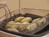 Крокети от зелен фасул със салата от патладжани 5