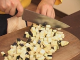 Крокети от зелен фасул със салата от патладжани 6
