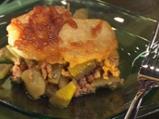 Зелен фасул с картофи и телешко