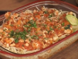 Мусака с пилешко и спагети 7