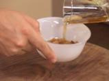 Задушени круши с хрупкава бадемова коричка 2