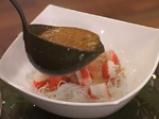 Супа с морски деликатеси и манатарки 5