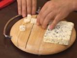 Цикория с круши, синьо сирене и малинов винегрет 3