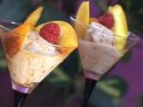 Карамелен орехов сладолед с фламбиран...