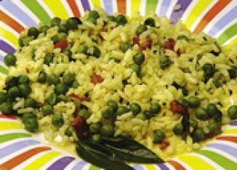 Ориенталска оризова салата