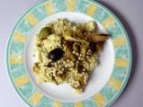 Салата от кускус с печени зеленчуци