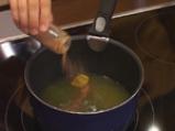 Пържени филийки със сироп и круши 2