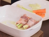 Пълнени пилешки копанчета със сос от горски гъби 2