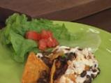 Черен фасул с тортиля чипс на фурна 5