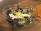 Есенна салата с круши и синьо сирене 5