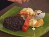 Кралски скариди, увити във филе от нилски костур 8