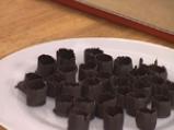 Домашни шоколадови бонбони с пълнеж от трюфел крем 6