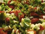 Оризова салата с чушки