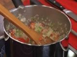 Червен фасул с ориз и пържени зелени банани 2