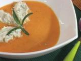 "Супа с червени чушки и сирене ""Крема"""