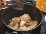 Пиле с ориз и грах 2