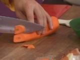 Пуйка с традиционна плънка и гарнитура от моркови 3