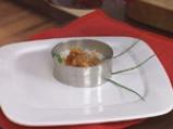 Заек кавърма кебап върху ориз с царевица и грах 5