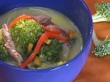 Супа от заешко с броколи