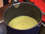 Тимбалчета с печени чушки и ориз