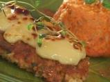 Пилешки гърди с топено сирене и домат...