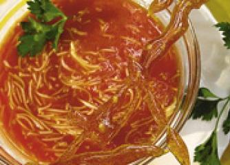 Доматена супа с карамелизирана захар