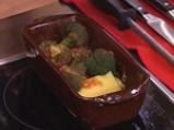 Качамак на тиган с карначета и броколи 7