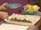 Ориенталски щрудел, сладолед от нар и киви сос с дюли 6