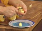 Ориенталски щрудел, сладолед от нар и киви сос с дюли 8